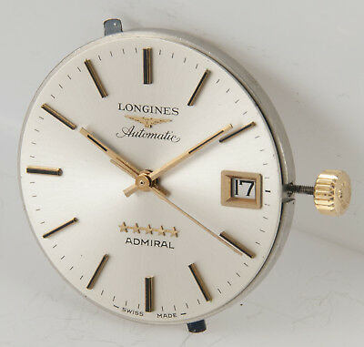 Longines Admiral Automatic Movement 505 + Dial + Original crown