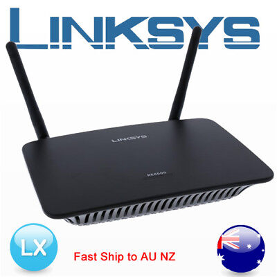 LINKSYS RE6500 1200Mbps AC1200 DUAL-BAND WIRELESS RANGE EXTENDER WiFi Booster AU