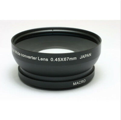 67mm 0.45x High Definition Wide Angle Lens & Macro Conversion Lens