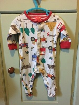 Baby Joules Boy 0-3 Months Tractor Farm