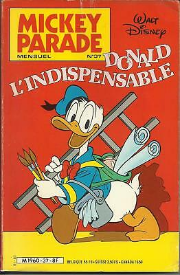 MICKEY PARADE N° 37 - DONALD L'INDISPENSABLE - Janvier 1983