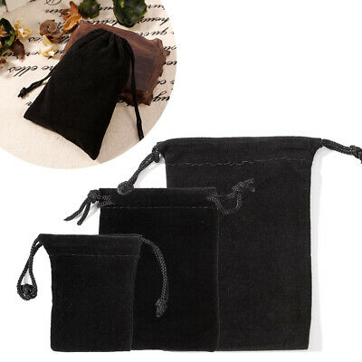 Wholesale Velvet Drawstring Jewelry Wrapping Pouches Gift Bags Organizer Storage