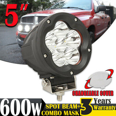 5inch 120W CREE LED Driving Light Work Lamp Spotlight Offroad 4x4WD Replace HID