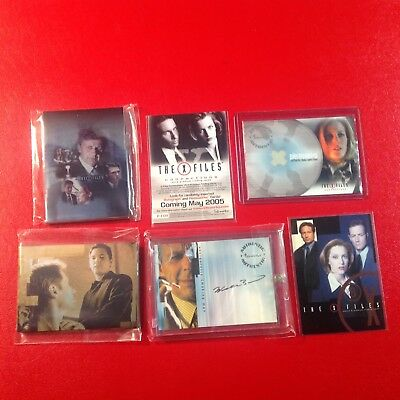 X-FILES - assorted cards