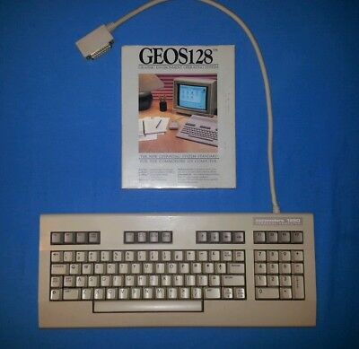 Commodore 128D Keyboard +  GEOS 128