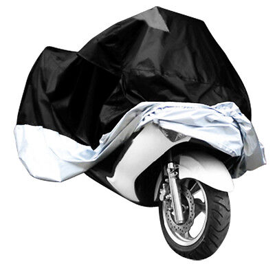 XL XXL Waterproof Outdoor Motorcycle Motorbike Cruiser Scooter Motor Bike Cover
