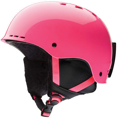 Smith Holt 2 Junior Skihelm crazy pink youth small