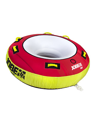 New! 2017 Jobe Giant 3 Person Inflatable Towable Jetski Boat Ringo Disc Donut