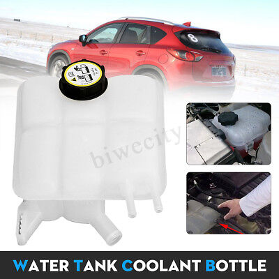 Water Tank Resevoir Coolant Radiator Overflow Recovery Bottle For 04-12 Mazda 3