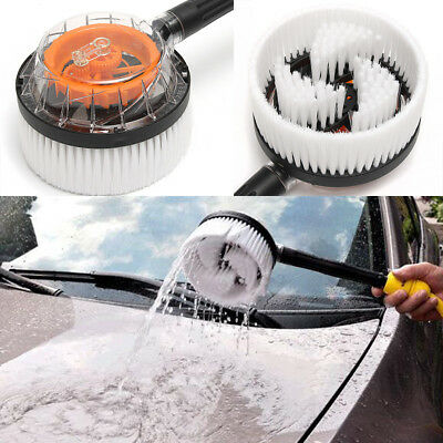 Automatic Car Truck Wash Cleaning Rotary Brush Water Spray Nozzle Hose Connector