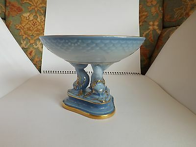 Vintage Bing and Grondahl, Seagull Pattern, Dish on Stand, RC Shape no. 451
