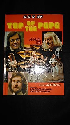 Top of the Pops BBC TV Annual 1976 Vintage Music Nostalgia Hardback