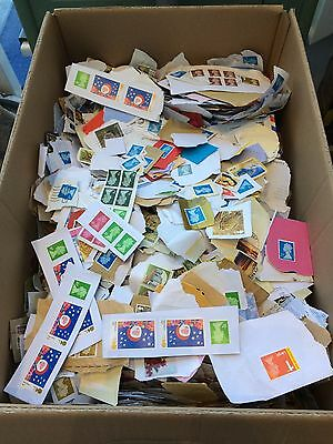 8kg charity kiloware stamps - Box A