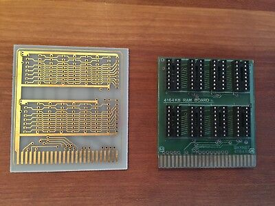 Apple II 4164 kB RAM Card Board