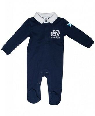 Scotland Rugby Baby Kit Sleepsuit | 6 Nations | 2017/18 Season