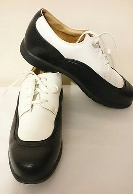 Nike Air Golf Verdana Last Black & White Shoes Size 8.5