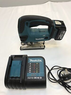 Makita 14.4v Jigsaw With One Battery An Charger