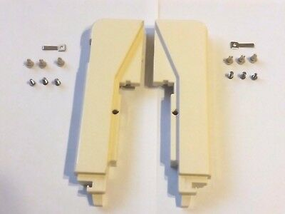 P102 Brother Knitting Machine Bulky Kh890 Kh-890 Needle Bed Side End Panels X2