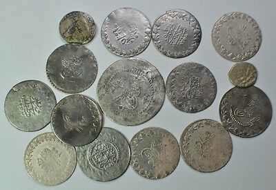 Lot of 15 Islamic Coins.