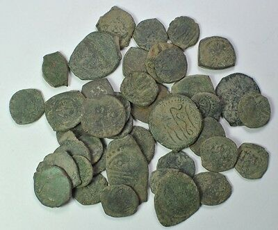 Lot of 40 Islamic Coins.