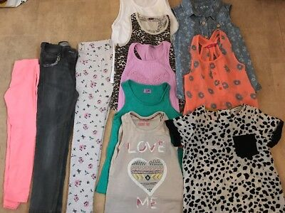Girls Clothes Bundle River Island Next H&M More 6-7 7-8 Years