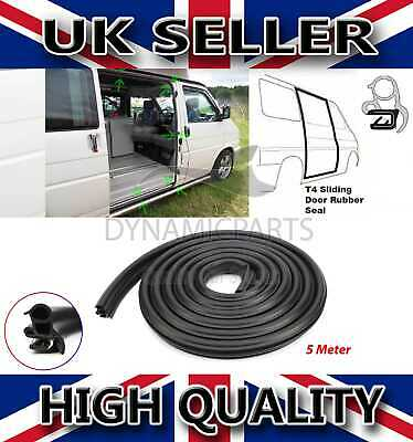 VW TRANSPORTER T4 MK4 SLIDING DOOR RUBBER BODY SEAL 1990 - 2004 (5m)