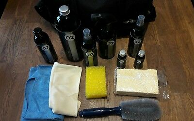Genuine Bmw Mini 13 Piece Car Cleaning Kit + Carry Case.wax,polish,sponge,shammy
