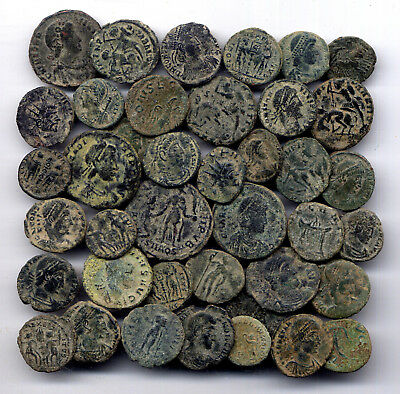 *loracwin* Very Nice Lot Of 40 Roman Coins.