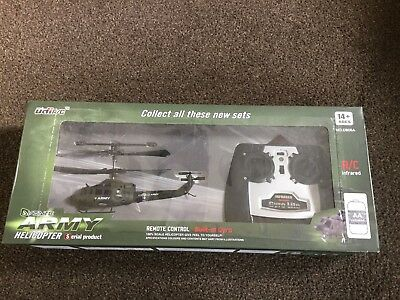 Remote Control Army Helicopter Christmas Gift