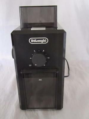 Delonghi Kg79 Burr Coffee Grinder - Black - Old Stock - 8/10