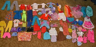 Lot of vintage barbie clothes, mixed lot; Genuine Barbie, Hong Kong and more