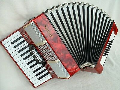 GALOTTA 48 Vintage GERMANY PiANO AKKORDEON ACCORDiON  48 BASS Аккордеон