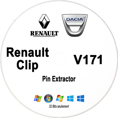 CAN CLIP  V171 (10-2017) + activation + tutoriel + PIN Extractor