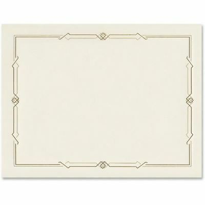 First Base Linen Certificates with Foil 83407