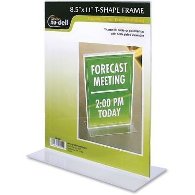 Nu-Dell Acrylic Standing Sign Holder 38020