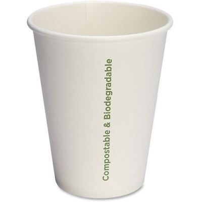 Genuine Joe Compostable Paper Hot Cups 10215