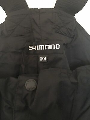 Shimano Bib And Brace XXXL BRAND NEW WITH TAGS BLACK
