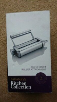 Pasta Sheet Roller Attachment FITS Kitchen Aid Artisan  *New-Boxed*