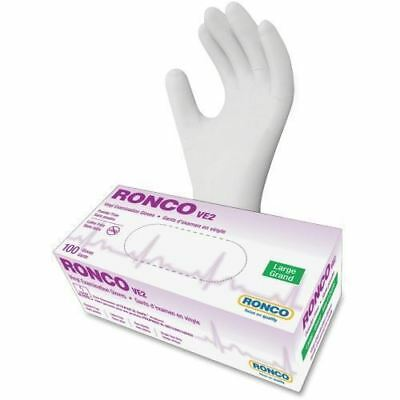 RONCO VE2 Vinyl Powder Free Exam Gloves 1243PF