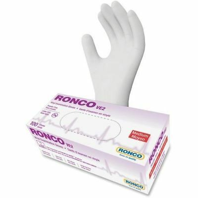 RONCO VE2 Vinyl Powder Free Exam Gloves 1233PF