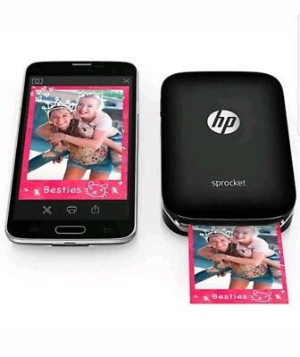 HP Sprocket Photo Printer - Black
