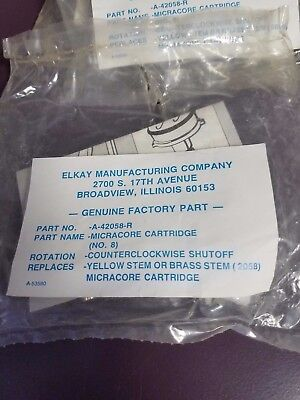Elkay Microcore Cartridge 1 pair hot and cold