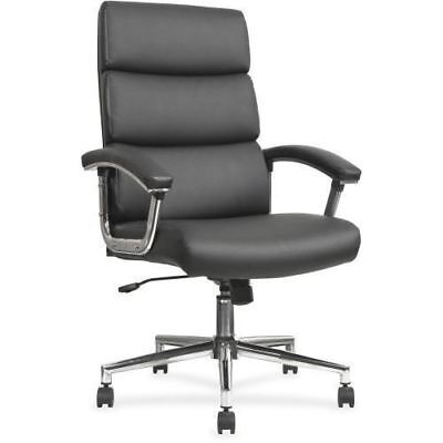 Lorell Leather High-back Chair 20018