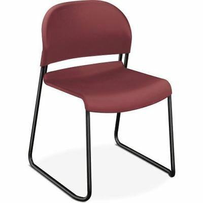 HON Stack Chair w/Painted Legs 4031MBT