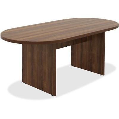 Lorell Chateau Series Walnut Oval 6' Conference Table 34337