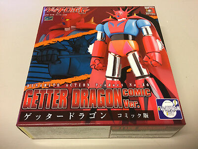 Getter Dragon Comic Version Dynamite Action 36 Evolution Toy Nuovo