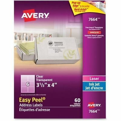 Avery Easy Peel Address Labels 7664