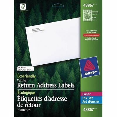 Avery Eco-Friendly Mailing Label 48867