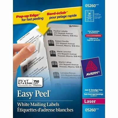 Avery Mailing Label 05260