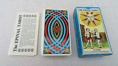 """Vintage Tarot Cards """" THE EPINAL TAROT """" 1979 in English & French"""